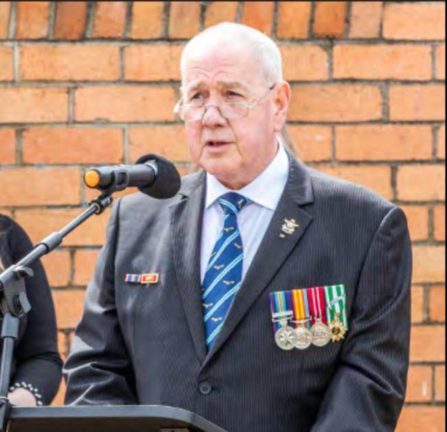 AFA Victoria President, Max McGregor