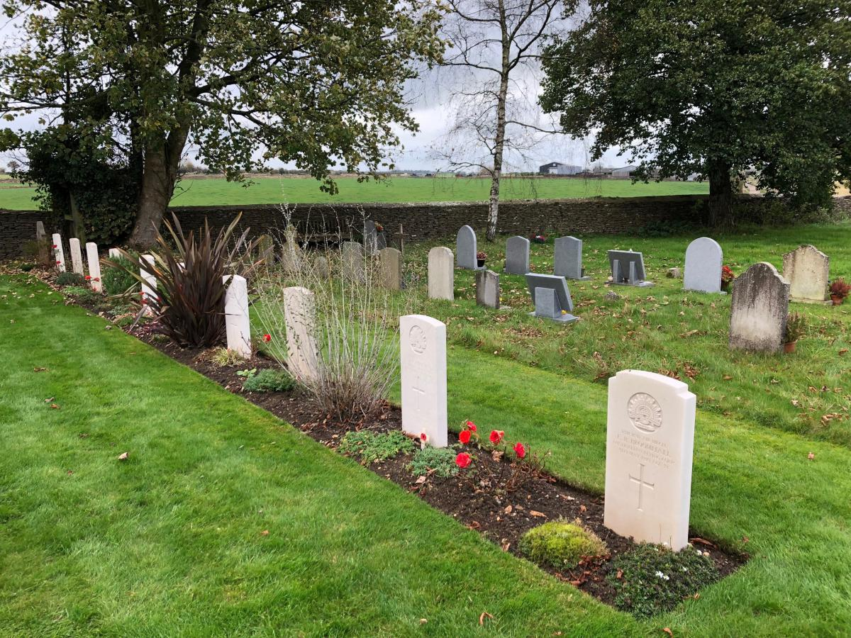 AFC graves at Leighterton